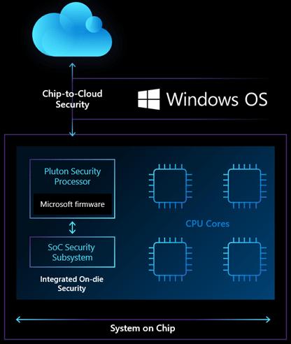 Microsoft Pluton la Struttura